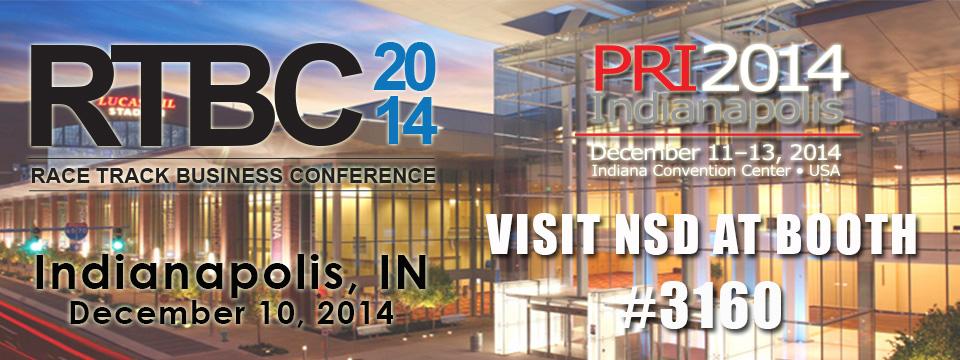 NSD - PRI Show - Visit booth 3160 960x360