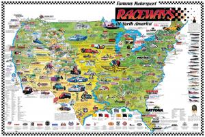 Famous Motorsports Raceways - NA - I